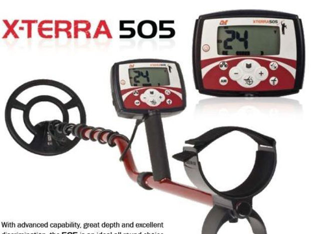 Picture of Minelab X-Terra 505