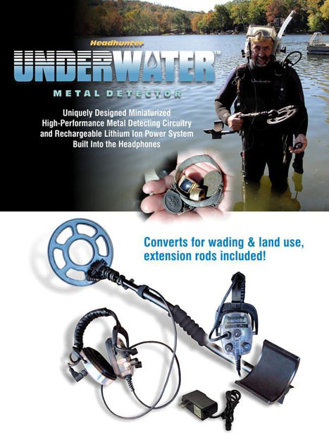Picture of Detector Pro Headhunter UNDERWATER