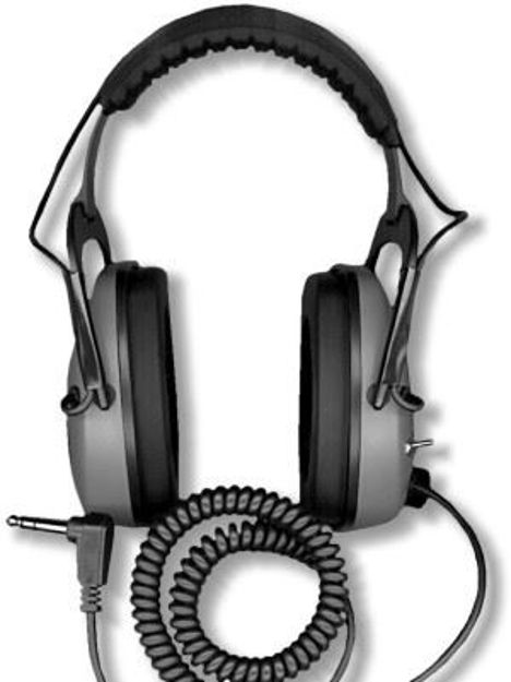 Picture of GRAY GHOST DUAL LIMITER STEREO HEADPHONES