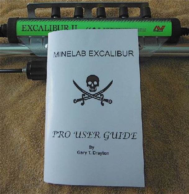 Picture of MINELAB EXCALIBUR PRO USER GUIDE