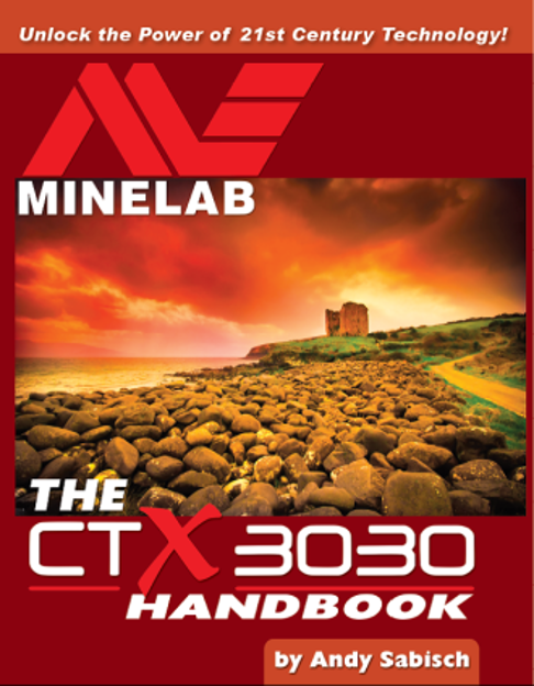 Picture of The Minelab CTX-3030 Handbook
